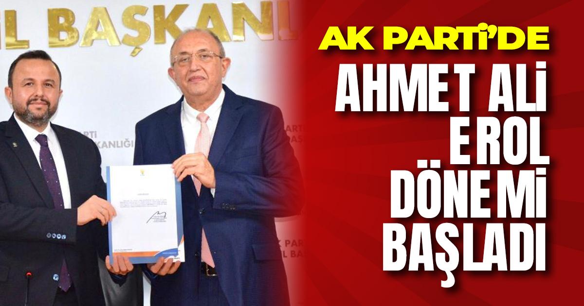 AK Parti Manavgat İlçe Başkanı Ahmet Ali Erol Oldu