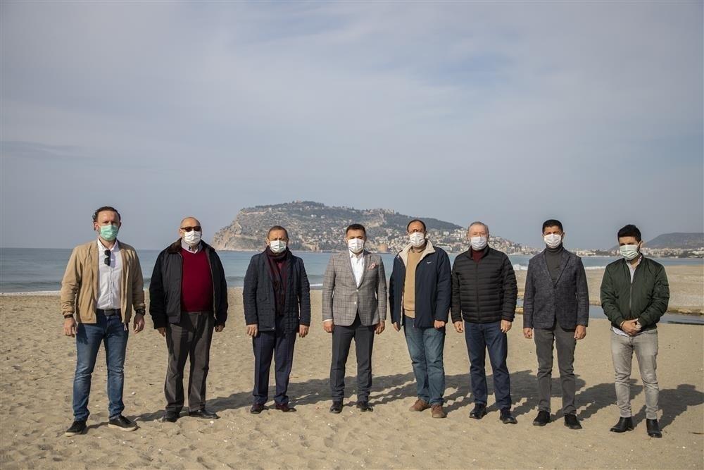 Alanya'da sahil bandının çehresini değiştirecek proje için düğmeye basıldı