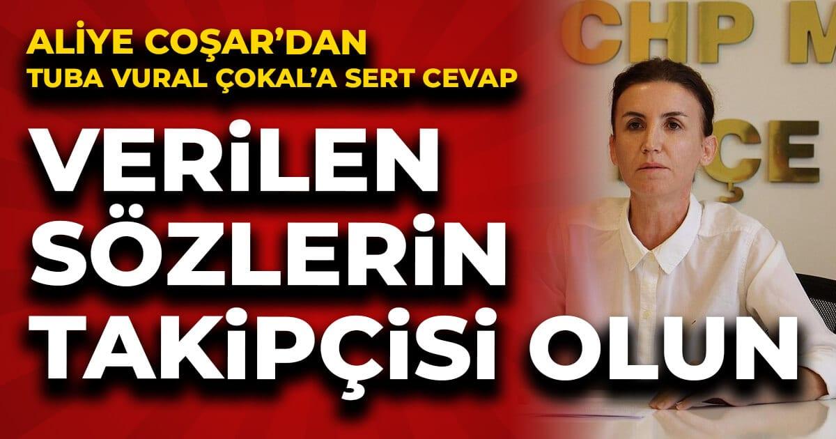 CHP İlçe Başkanı Coşar: Verilen sözlerin takipçisi olun
