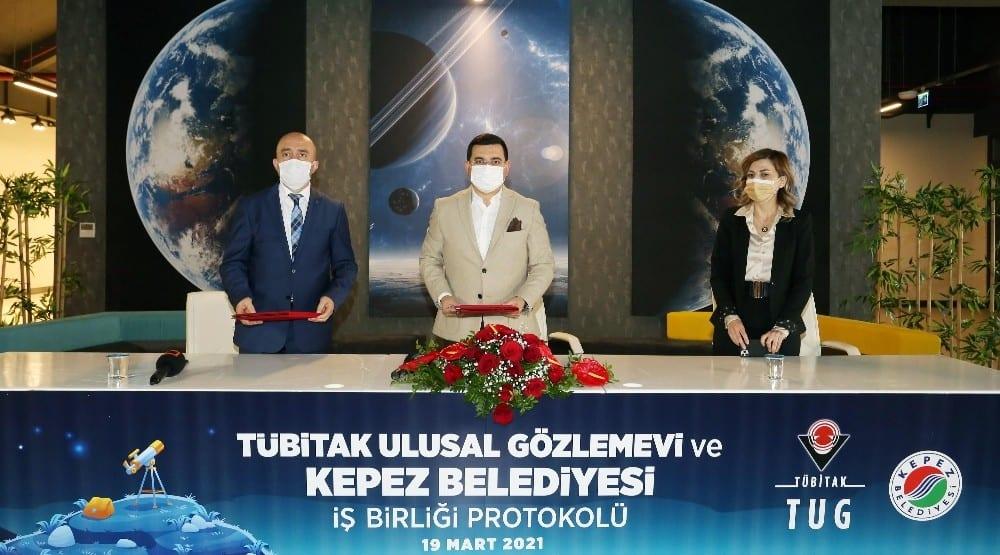 Antalya Bilim Merkezine astronomi bölümü açılıyor