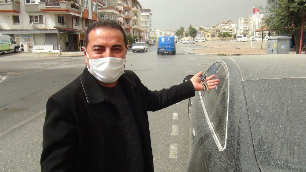 Antalya'ya çamur yağdı