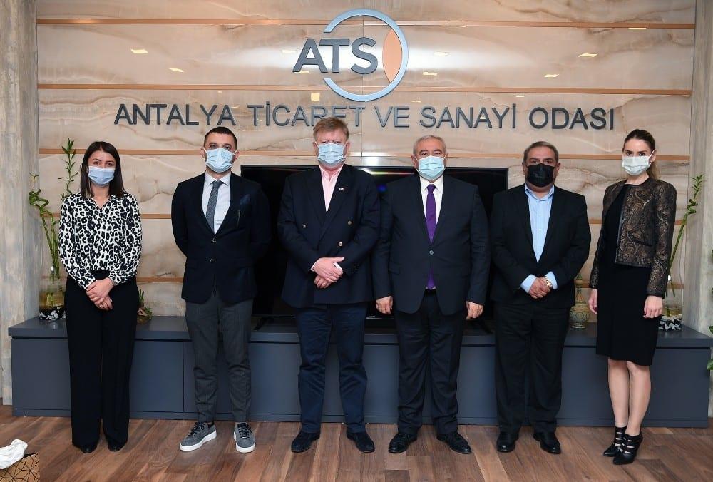 """ATSO Başkanı Davut Çetin: """"Antalya Limanı'nda yüksek fiyat politikası devam ederse, sıkıntılar çözülmez"""""""