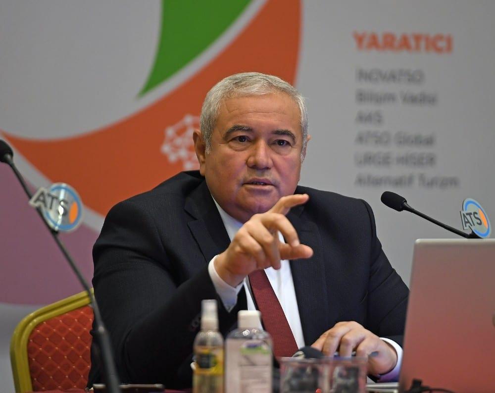 """ATSO Başkanı Davut Çetin: """"Pandemiden güçlü bir çıkış yapmalıyız"""""""