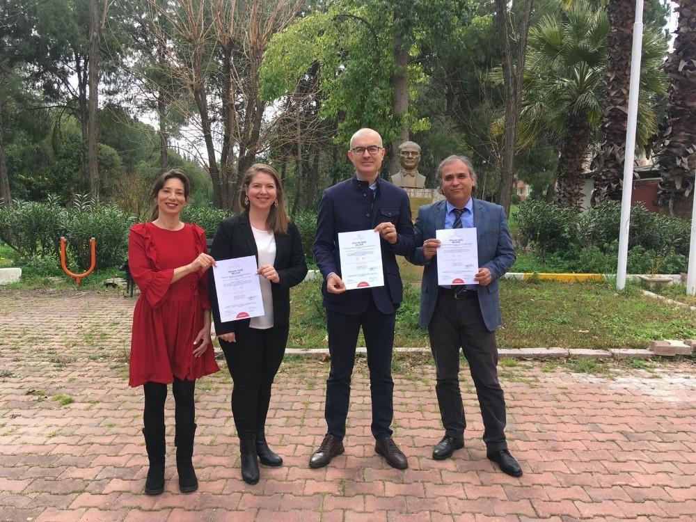 AÜ Antalya Devlet Konservatuvarı temiz belgesiyle yüz yüze eğitime hazır