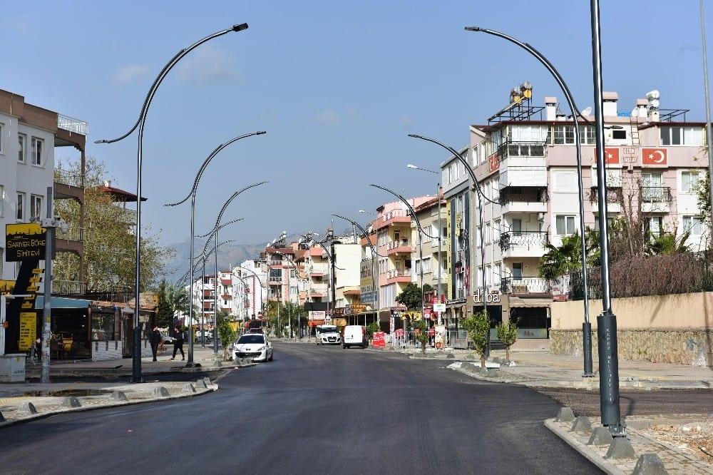 Kafeler Caddesi açılışa hazırlanıyor