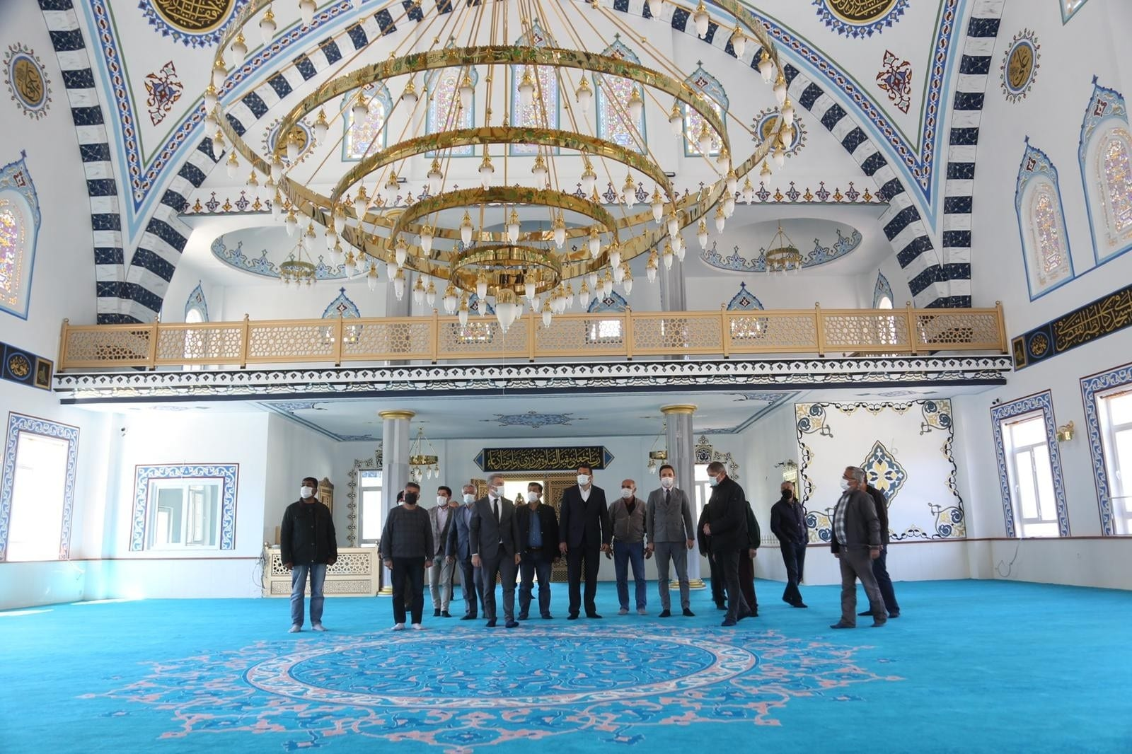 Kaş'taki Yeşilköy Cami inşaatı tamamlandı