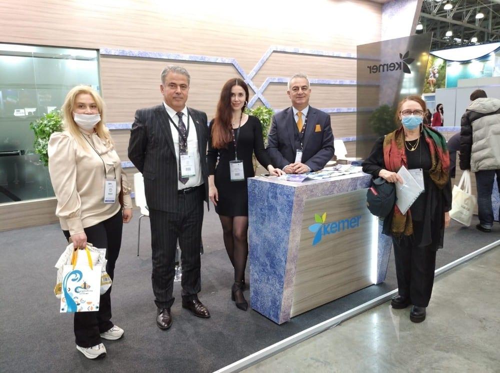 Kemer, MITT Moskova Turizm Fuarında tanıtılıyor