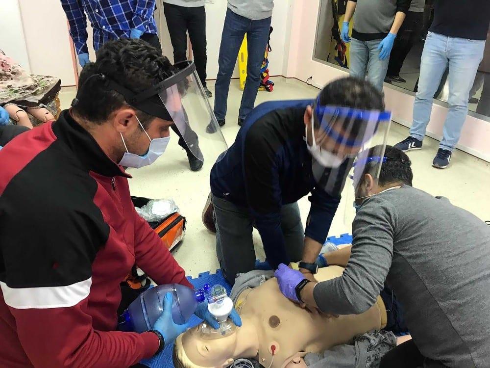 TSK personeline acil tıbbi yardım ve bakım eğitimi