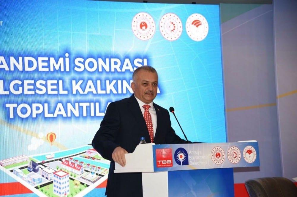 """Vali Yazıcı: """" Antalya yeni rekorlar kıracak"""""""