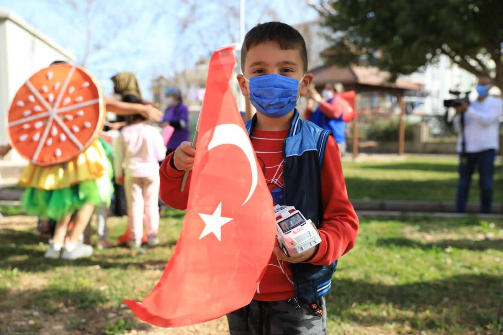 Büyükşehir Belediyesi 23 Nisan Çocuk Şenliği düzenliyor