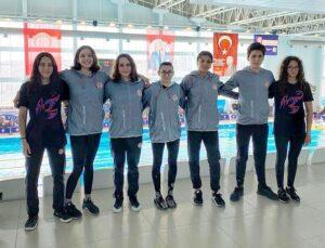 Antalyasporlu yüzücüler milli takım için kulaç attı