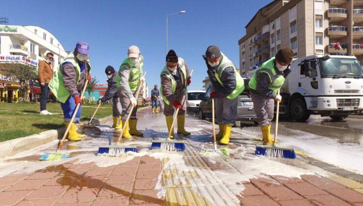 Kepez Belediyesi kısıtlamalarda da 7/24 görev başında