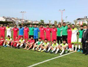 Kepez Belediyespor hazırlık maçını 3-1 kazandı
