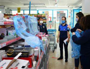 Manavgat Belediyesi'nden zincir market ve fırınlarda denetim
