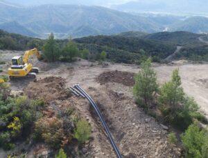 Manavgat'ta susuz topraklar suya kavuşuyor