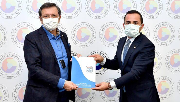Başkan Hisarcıklıoğlu'na üyelerin talepleri iletildi