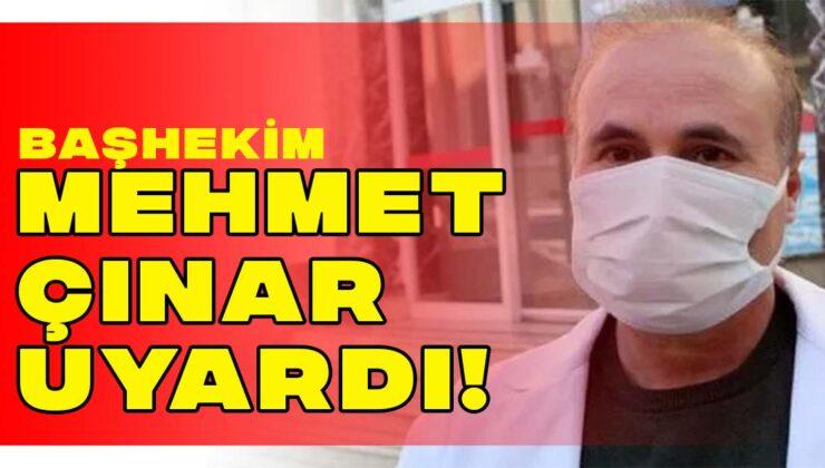 Manavgat Devlet Hastanesi Başhekimi Mehmet Çınar uyardı!